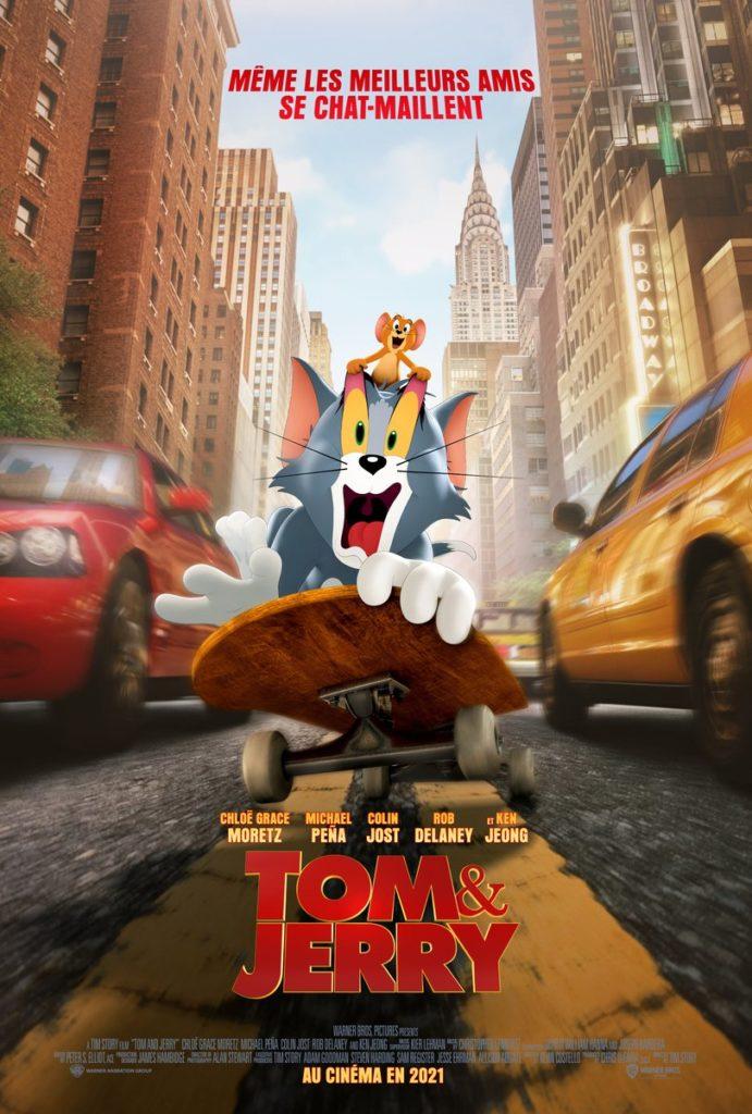 Affiche flim Tom & Jerry le chat et la souris