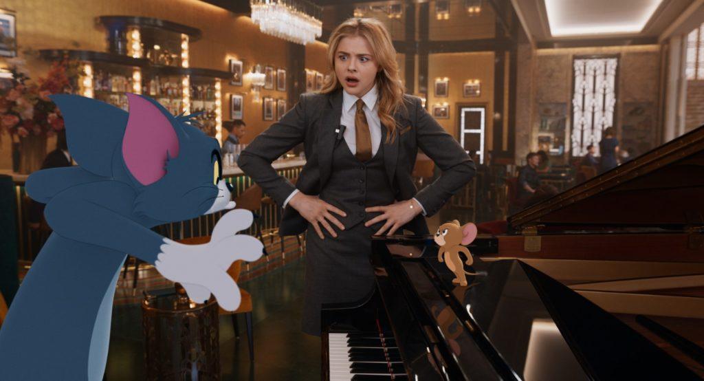 Copyright 2020 Warner Bros. Entertainment Inc. All Rights Reserved Stars Chloë Grace Moretz Film Tom et Jerry