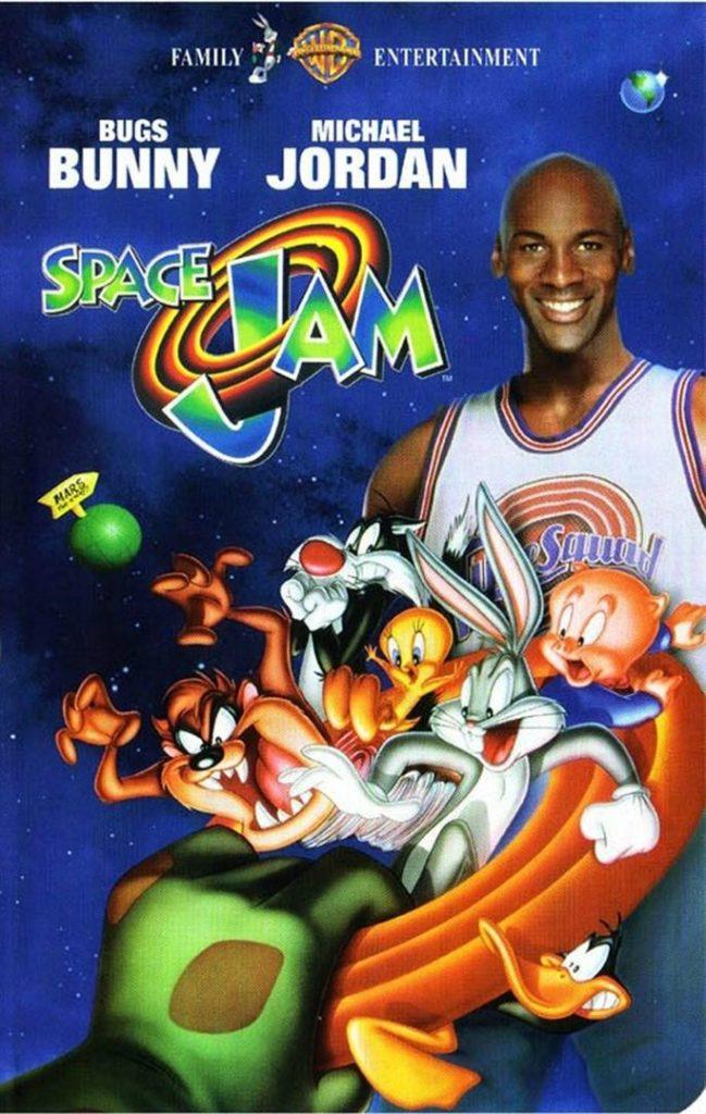 affiche Space Jam 1996